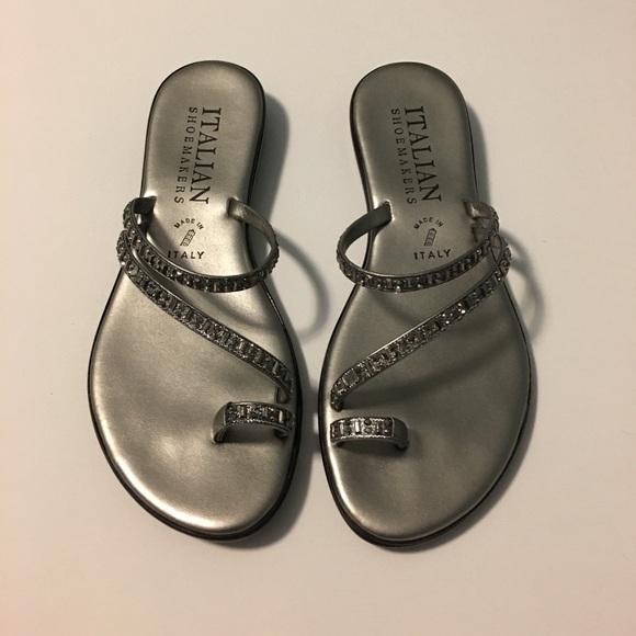 0f3048782b1169 Italian Shoemakers Shoes - Sparkly Sandals - 🛍 closet 4 BOGO deals on 👠 s